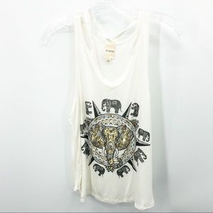 Girls Generation Multi Strap Elephant Tank Small